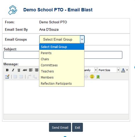 RunPTO Student Directory