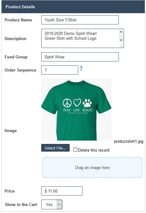 RunPTO Online Store Product