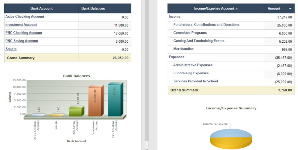 RunPTO Financial Dashboard